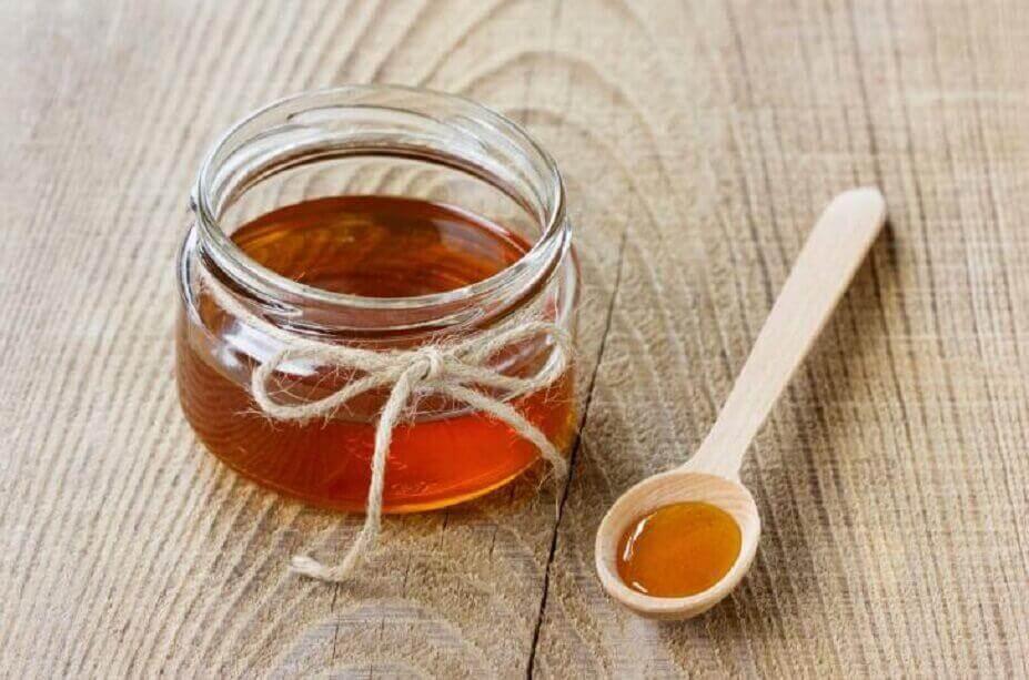 Honung för hudvård