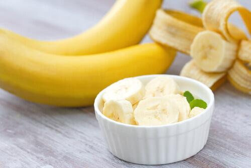 Banan och hudvård ekologisk
