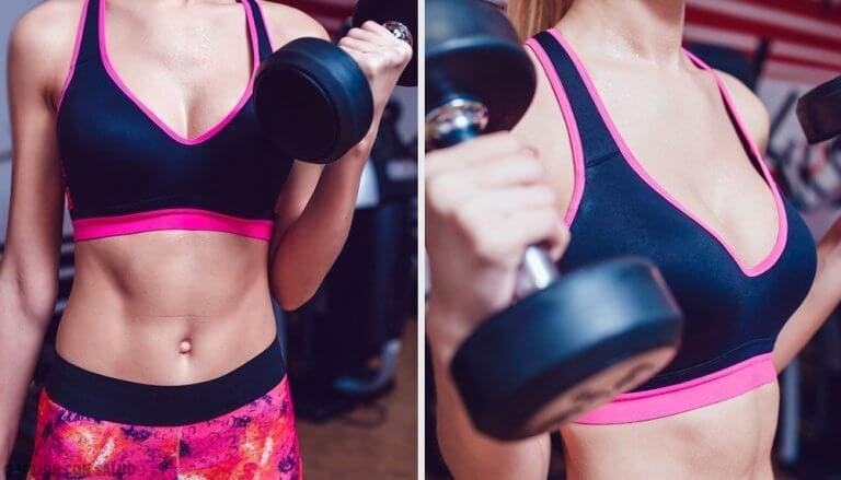 5 olika styrkeövningar som ger fasta bröst
