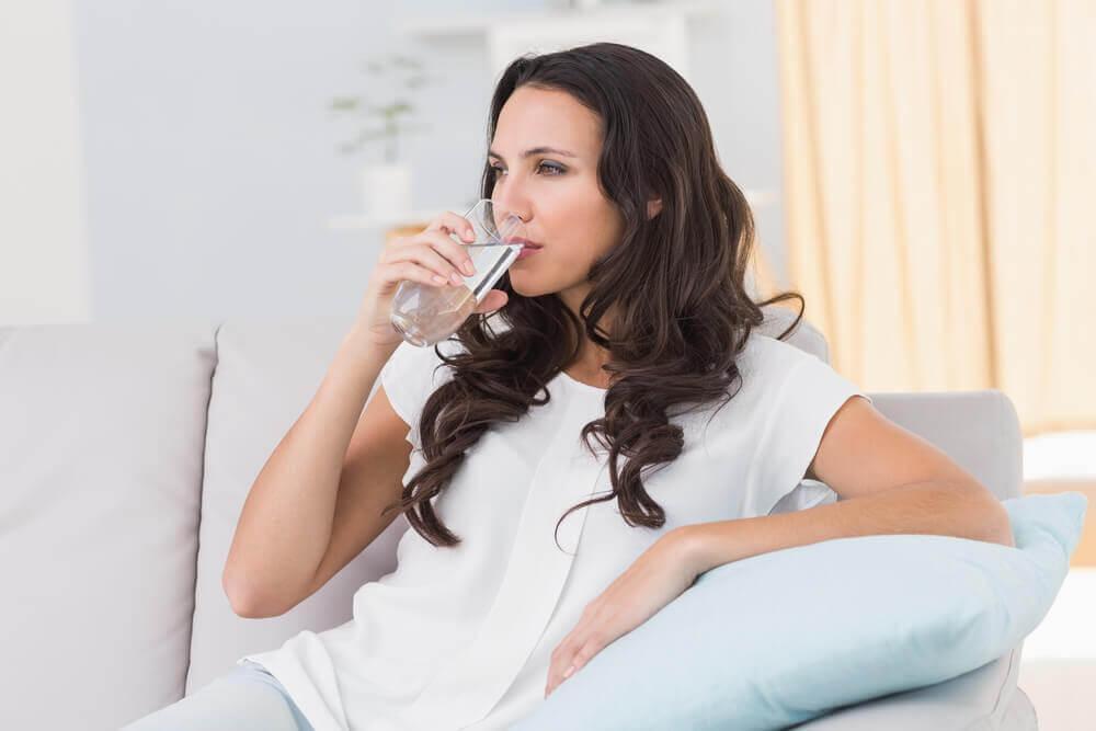 vatten kan lindra stress