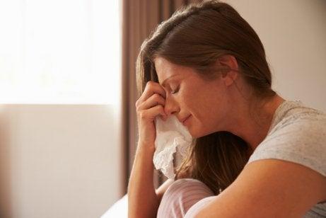 Gråt gör att du lär känna dig själv