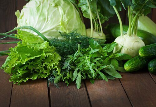 Gröna bladgrönsaker