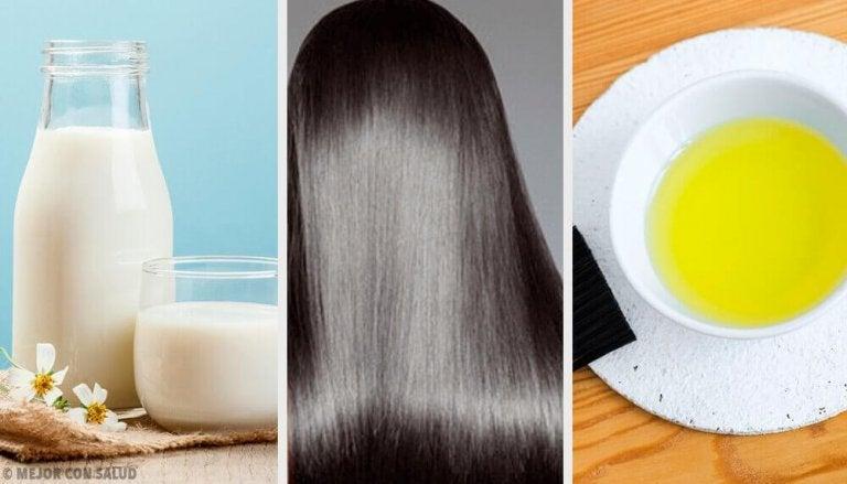 Tips och naturliga kurer för vackert hår