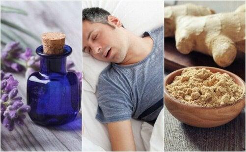 Hur man kan lindra sömnapné med 5 naturliga huskurer