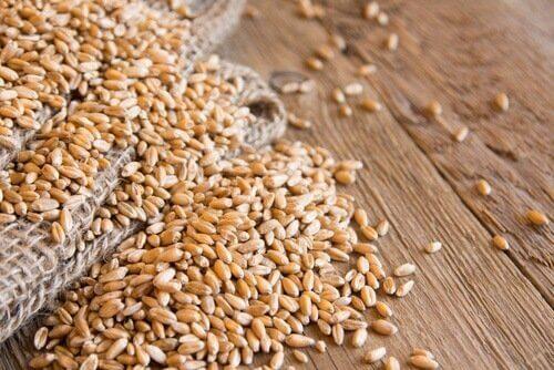 Korn är ett nyttigt fullkornsspannmål