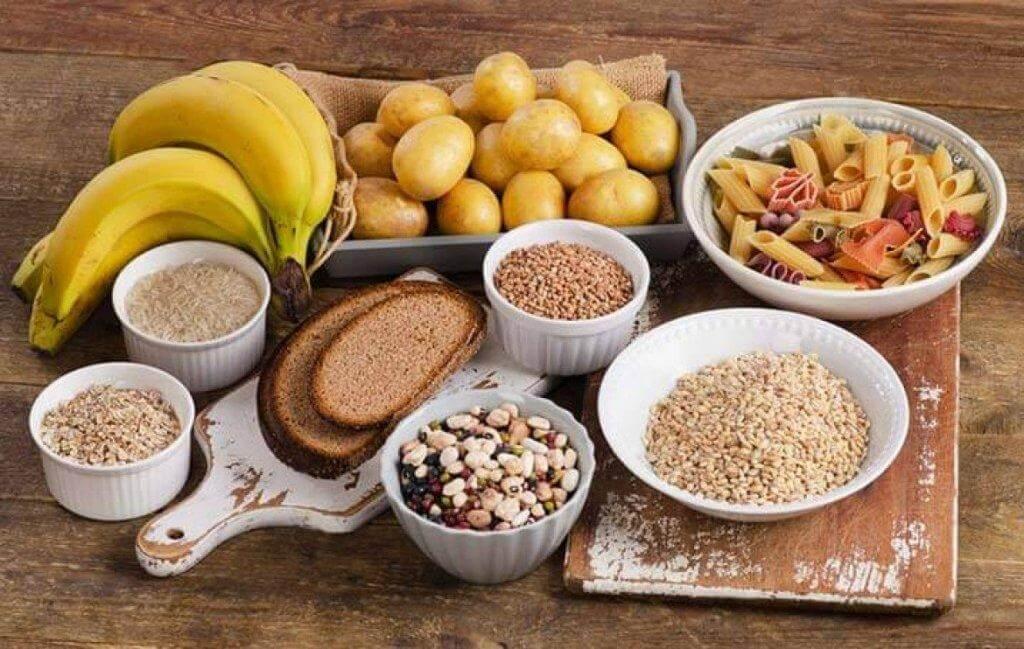 proteiner och kolhydrater