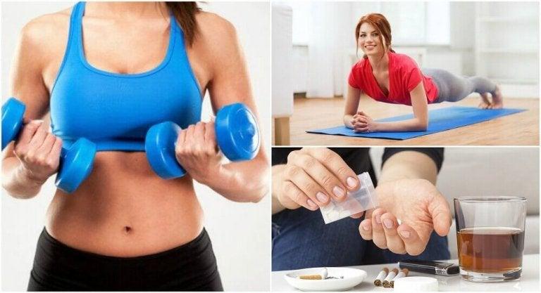 6 misstag som hindrar dig från att få ökad muskelmassa