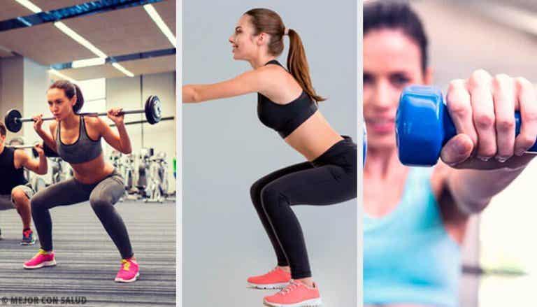 Våra mest rekommenderade övningar med knäböj