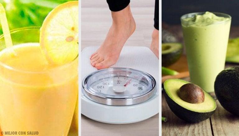 5 enkla recept på drycker för viktminskning