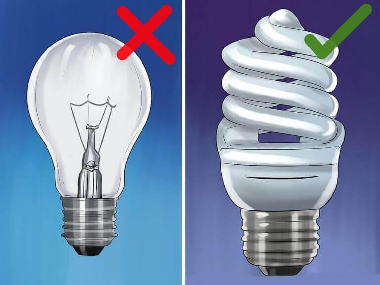 7 sätt som du kan spendera mindre på elektricitet