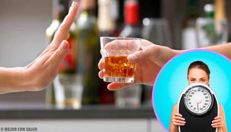 Måste man ge upp alkohol för att gå ner i vikt?