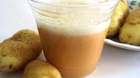 Potatisjuice mot reflux