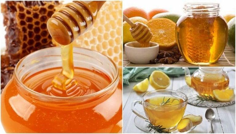 Hur man tillreder 5 hälsosamma huskurer med honung