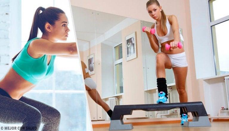 Bästa träningen för att tona benmusklerna