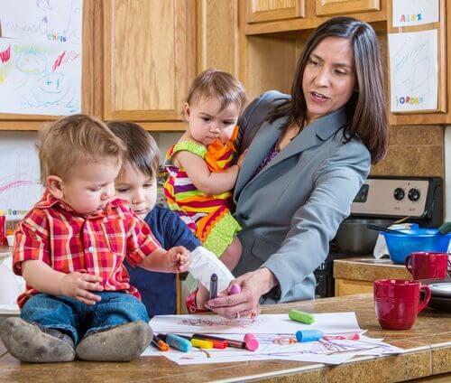 skönhetstips för mammor som är upptagen