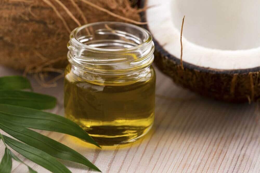 Behandling med kokosolja och honung