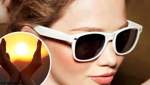 9 konsekvenser av att inte använda solglasögon
