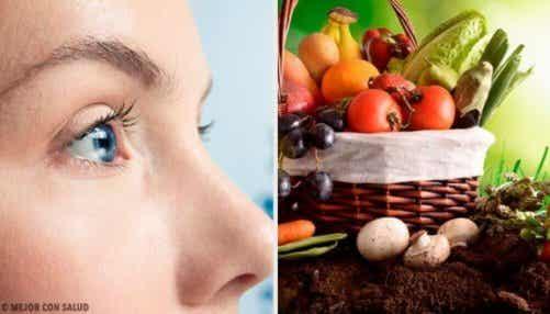 Ät dessa 10 livsmedel som ger dig bra syn