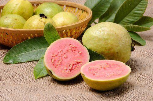 Guava är bra för matsmältningen