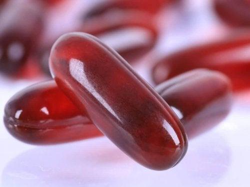 Krilloljan innehåller omega 3