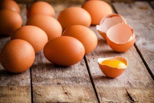Äggskal kan användas på flera sätt