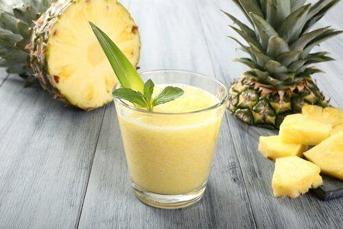 Ananas är antiinflammatiriskt