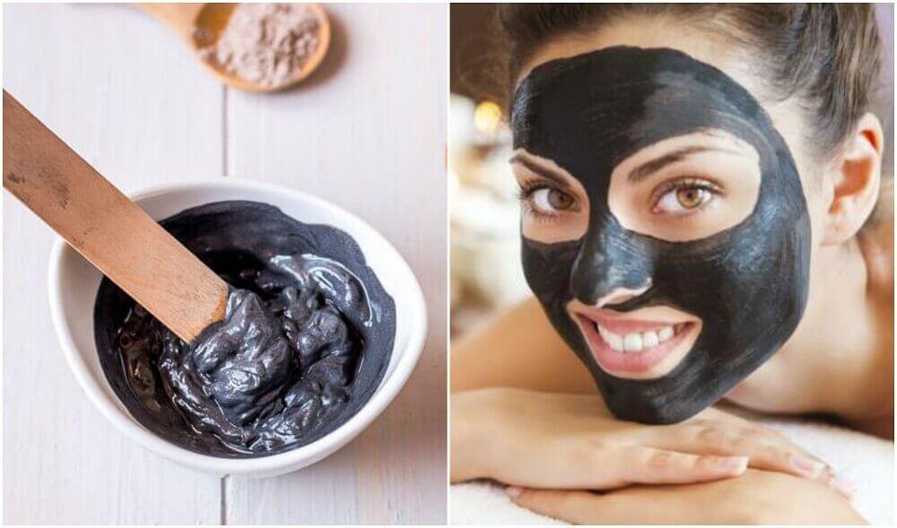Bli av med finnar: Hur man gör en svart ansiktsmask