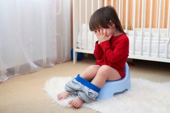 Att börja med potträning: hur barnet kommer reagera