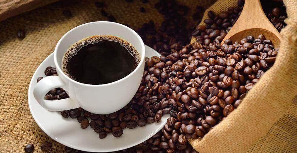 Kaffe och kaffebönor