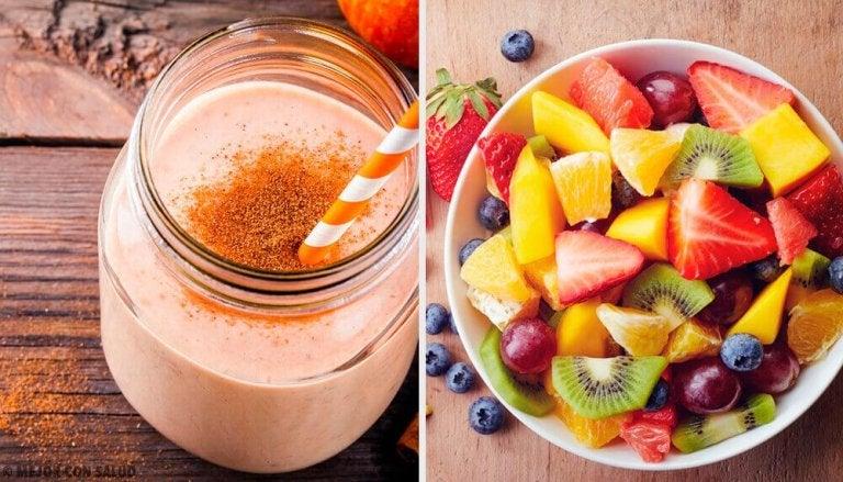 7 näringsrika smoothies till frukost för varje dag i veckan