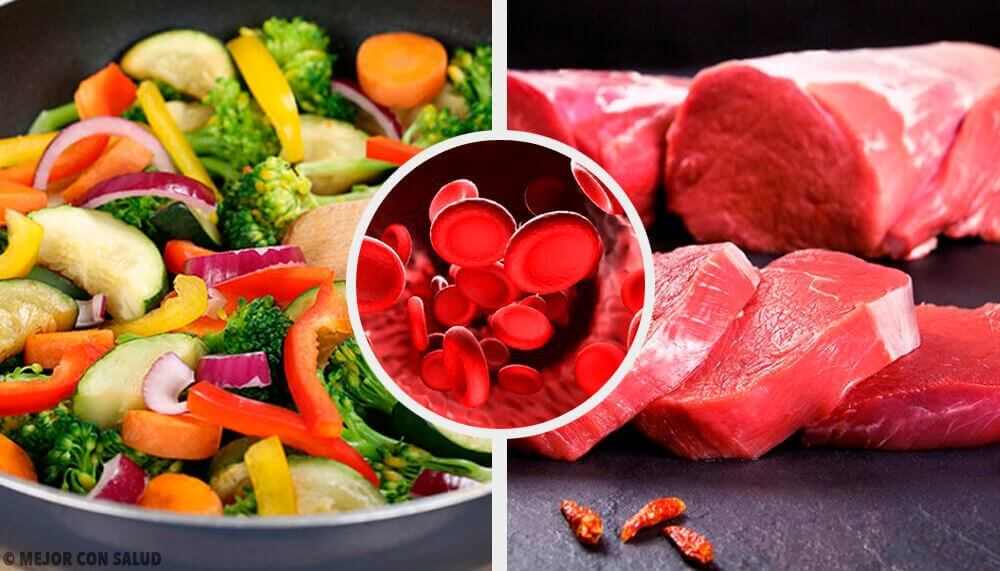 Livsmedel att äta för att få normal nivå av hemoglobin