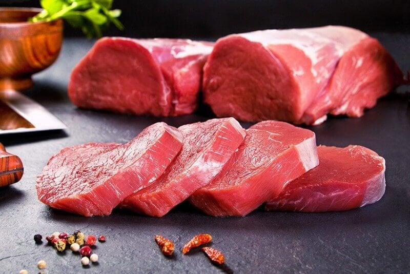 Kött för sund nivå av hemoglobin