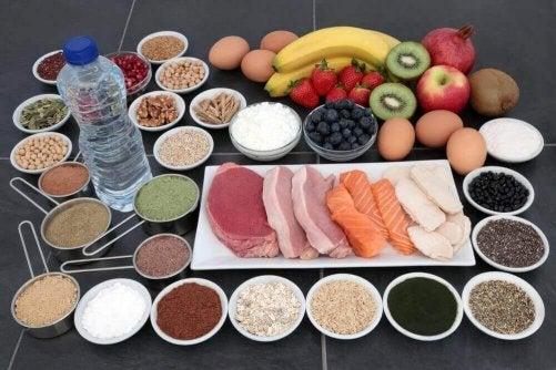 Det finns mat som innehåller kreatin