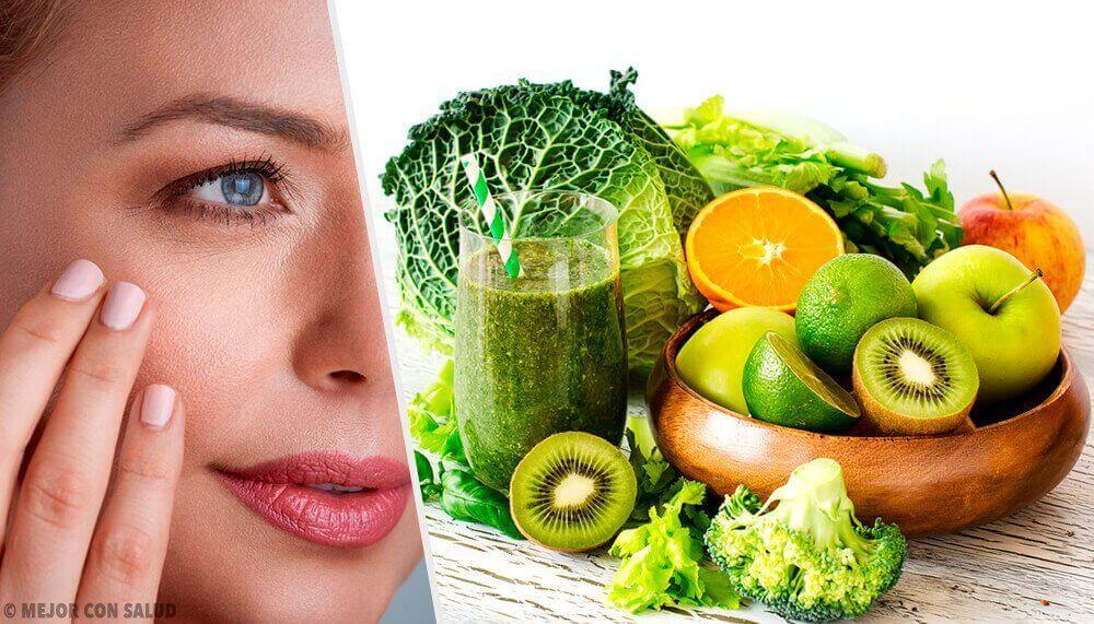 Frukter för att förhindra torr och sprucken hud