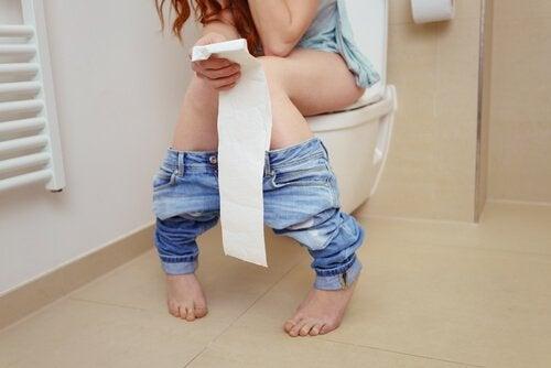 Magproblem är ett symptom på gastroenterit