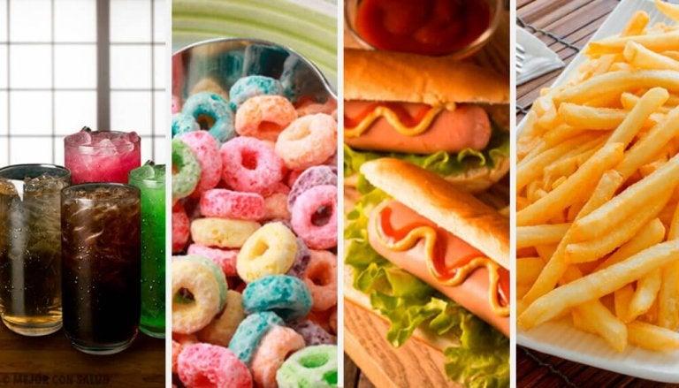 15 livsmedel som man bör undvika till varje pris