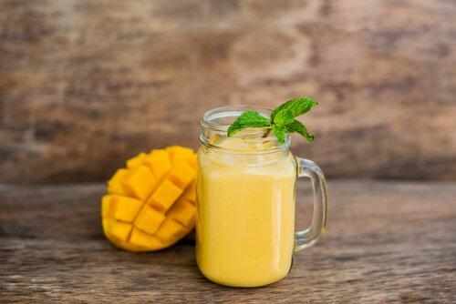 mango smoothie orange