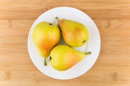 Allergi mot päron är ovanligt