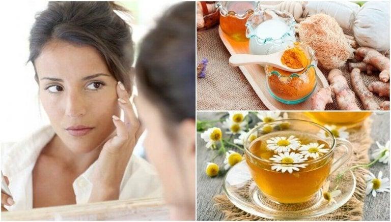 5 behandlingar för att minska påsarna under ögonen