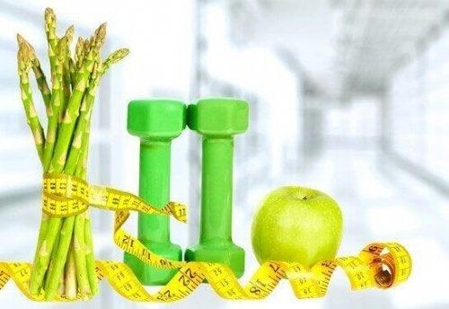 Sparris hjälper med vikten
