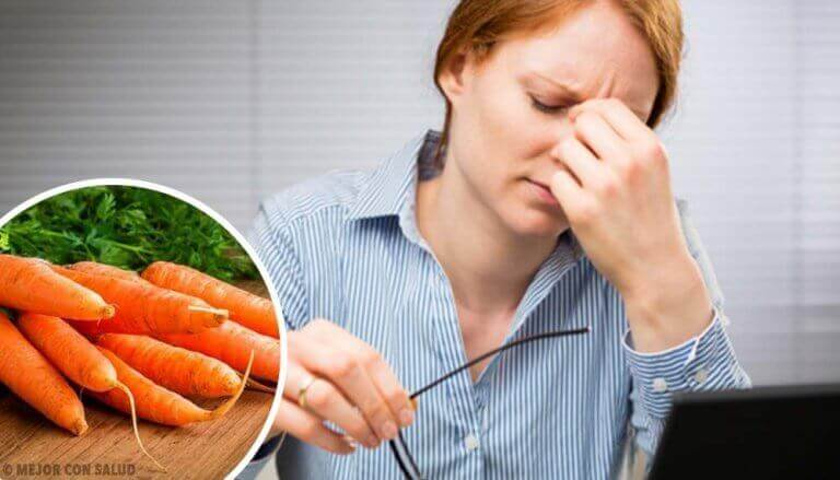 10 nyttiga övningar och bra mat för god syn