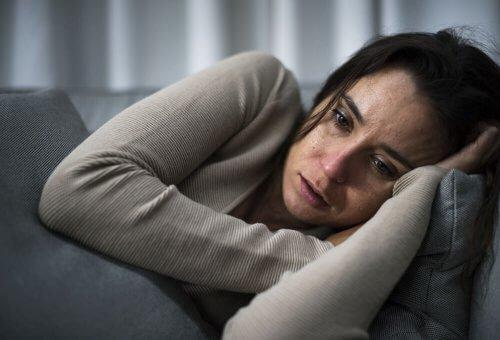 Misshandlad kvinna