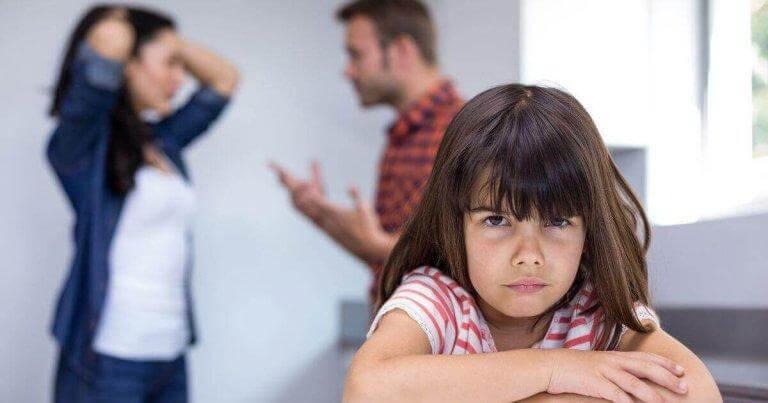Gräl kan leda till fysiska konsekvenser för barn