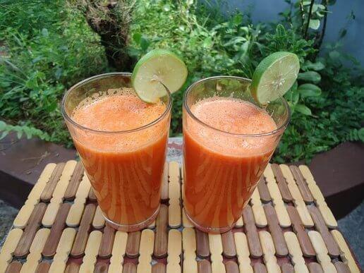 Ingefära, apelsin och morot är antiinflammatoriska