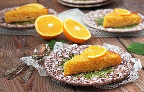 Hemgjord apelsinkaka på fem minuter