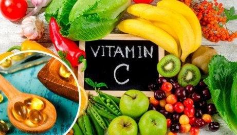 detox med ingefära och äpple vitamin C