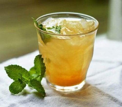 Ananas och guarana är bra komplement