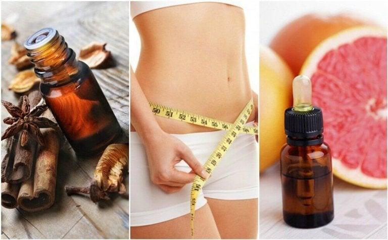 6 eteriska och väldoftande oljor för viktminskning