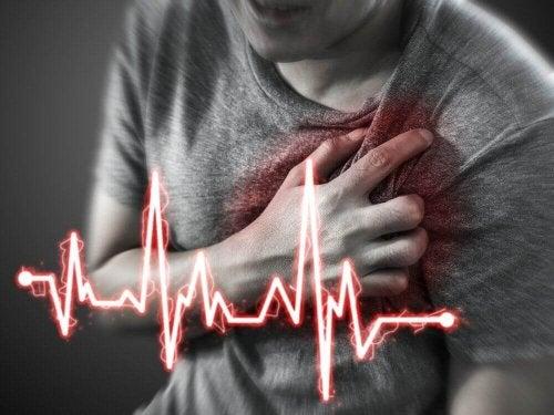 Hjärtinfarkter orsakar cirka 13 miljoner dödsfall per år