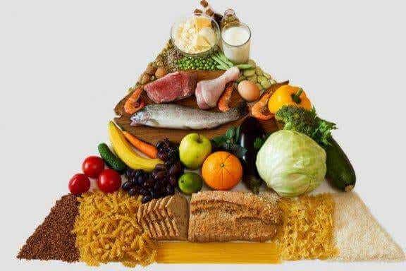 Den nya matpyramiden för en hälsosam livsstil
